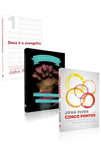 Kit 3 Livros - Teologia Reformada - John Piper