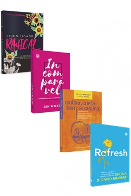 Kit 4 Livros - Mulheres Fiéis