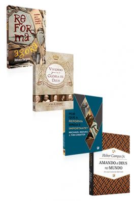 Kit 4 Livros - Reforma Nos Nossos Dias