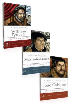 Kit 3 Livros - Homens da Reforma
