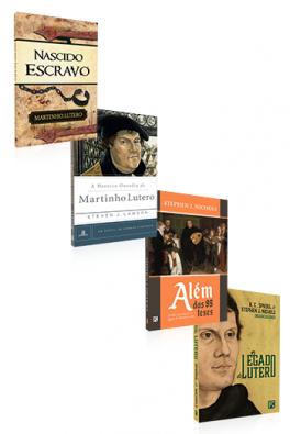 Kit 4 Livros - Conhecendo Martinho Lutero