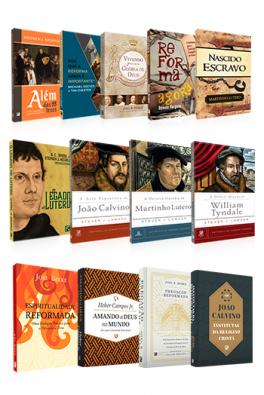 Kit 13 Livros - Especial Reforma Protestante