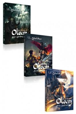 Kit 3 Livros - As Crônicas de Olam