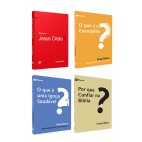 Kit 4 Livros - Introdução à vida cristã