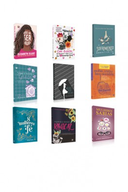 Kit 9 Livros - Feminilidade