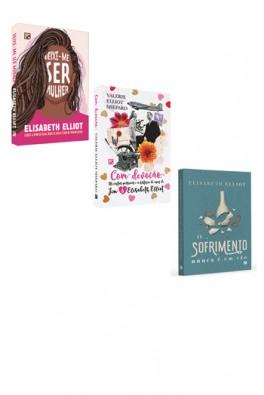 Kit 3 Livros - Elisabeth Elliot