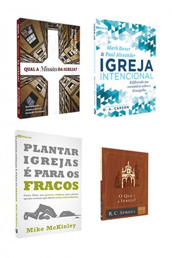 Kit 4 livros - Igrejas Saudáveis