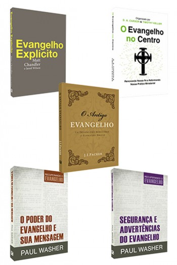 Kit 5 Livros - Evangelho Explícito