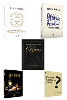 Kit 5 Livros - Amando a Bíblia