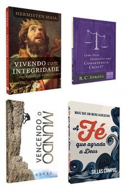 Kit 4 Livros - Vivendo o Evangelho no Mundo