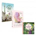 Kit 3 livros - Lançamentos Abril 2021