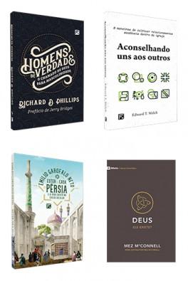 Kit 4 livros - Homens - Fiel Jovens 2021