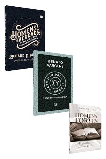 Kit 3 Livros - Homens Fiéis