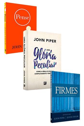 Kit 3 livros - John Piper