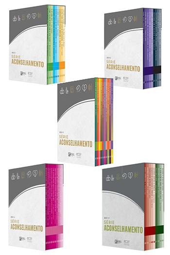Kit 4 livros - Série Aconselhamento