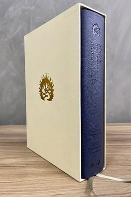 A Bíblia de Estudo da Fé Reformada - Capa Luxo Azul Marinho e Estojo
