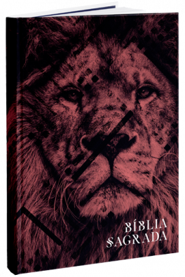 Bíblia NAA - Capa Leão