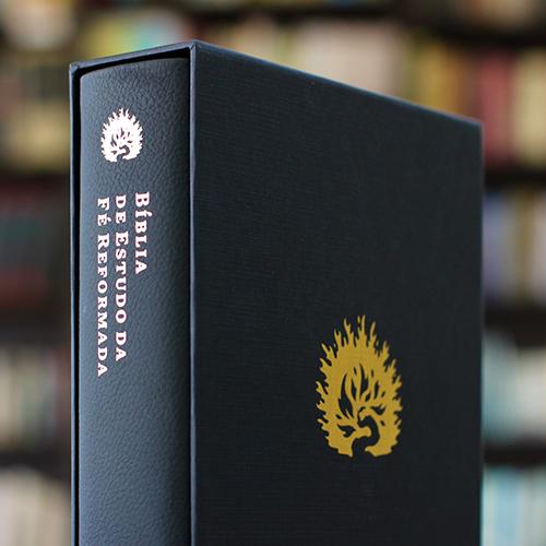 A Bíblia de Estudo da Fé Reformada - Capa Couro Legítimo